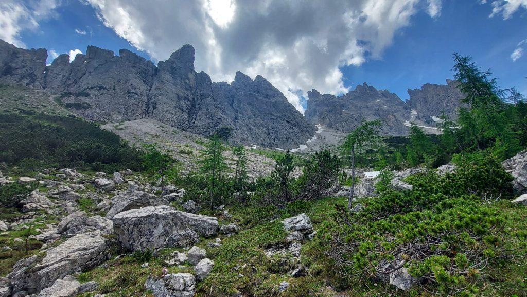 27 Giugno2021 Alpi Carniche Rif. Giaf Anello di Bianchi