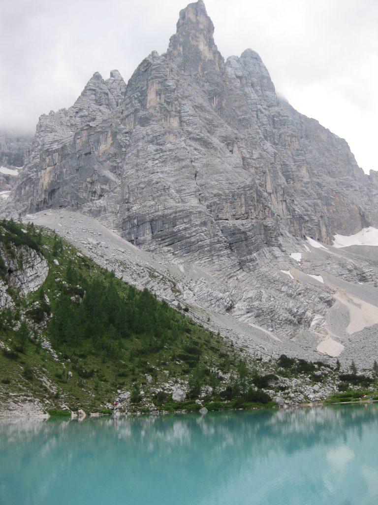 25 Luglio 2021 Lago di Sorapis forcella Marcoira m.2307